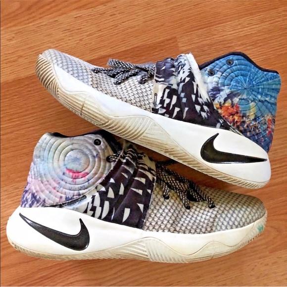 on sale 55db8 102e8 Nike 10.5 kyrie 2 effect tie dye basketball shoes.  M 5b500d0a25457ac5fe93dd52
